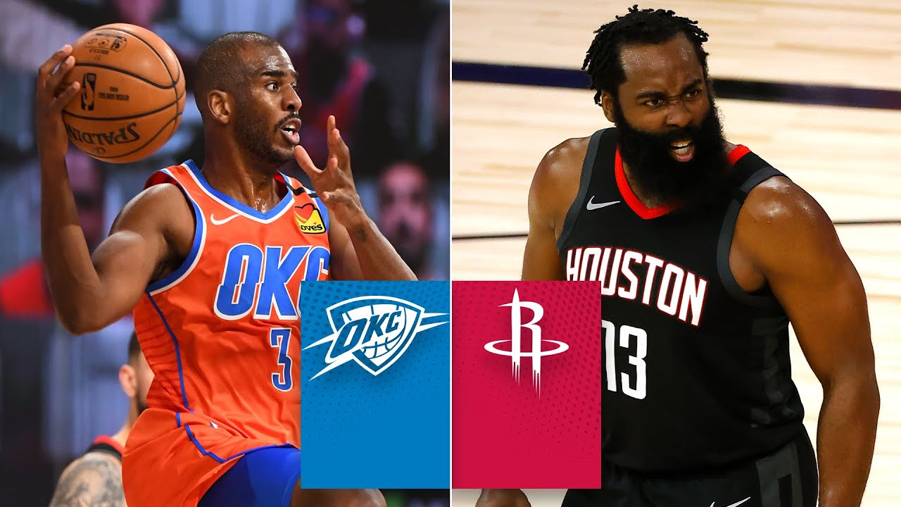 Thunder vs. Rockets - Game Recap - August 29, 2020 - ESPN