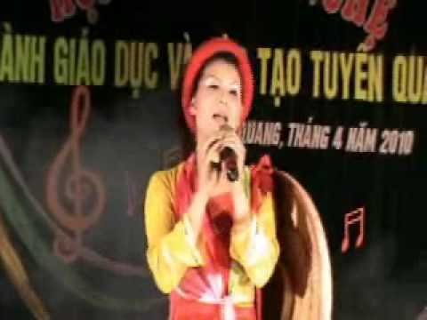 "Video clip ""Nhung co gai tren que huong quan ho"" truong THPT Na Hang"