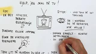 Verktøykassa: Hjelp, jeg skal på tv