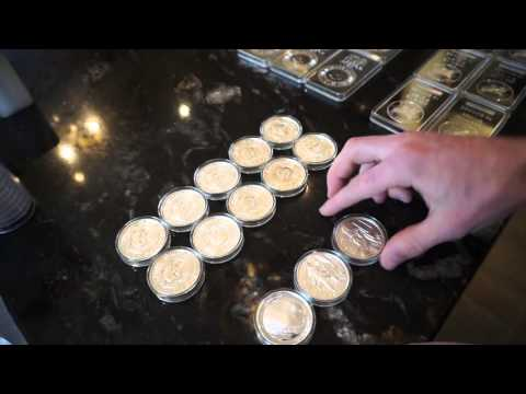 Full Silver Stack Approx 1500+ Ounces & 10 oz Silver Bar Air Tite Review