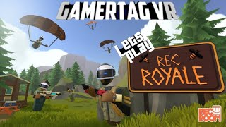 REC ROYALE MODE 'ALPHA' | PSVR Gameplay Review | Fortnite VR Rec Room style