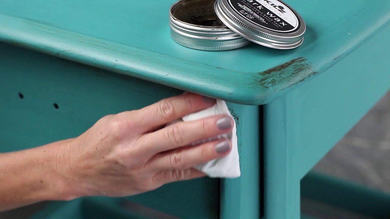 """Comment Rafraichir Une Chambre De Bébé how to create """"age"""" for a vintage look with kilz® chalk style paint"""