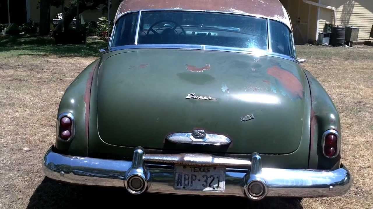 1951 buick youtube for 1951 buick special 4 door