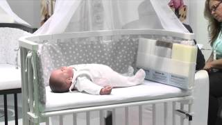 watch now lilledroem baby beistellbett f r ikea bett malm. Black Bedroom Furniture Sets. Home Design Ideas