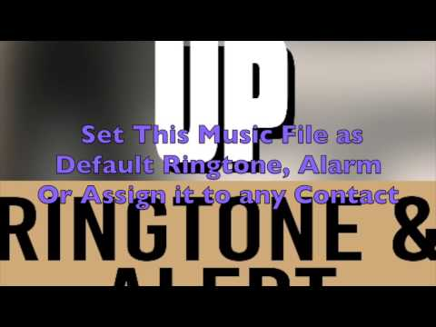Brantley Gilbert  - Bottoms Up Ringtone and Alert