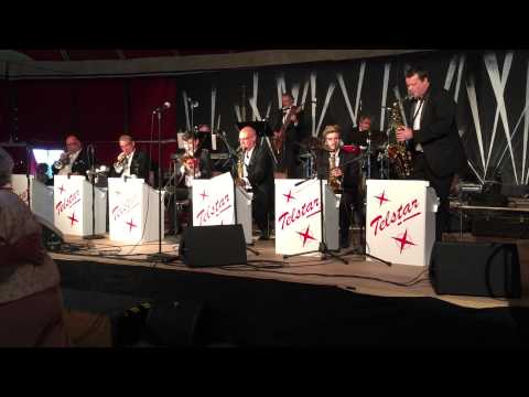 Little brown jug - Telstar Big Band - Ramsey 1940s weekend Aug 2015 HD