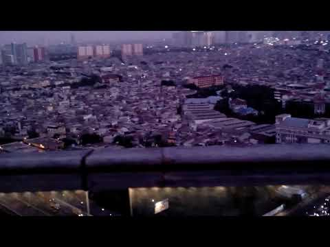 Jakarta dari Skybrige-Aston Marina Hotel Jakarta