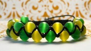 Двойной браслет Шамбала. Double bracelet Shambala.