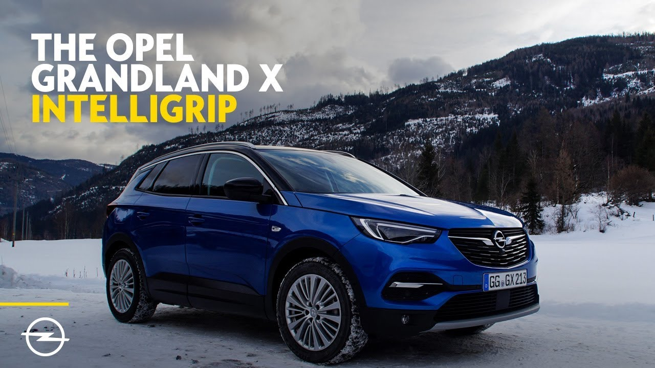 the opel grandland x easy traction with intelligrip youtube. Black Bedroom Furniture Sets. Home Design Ideas