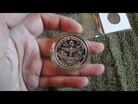 Isle Of Man 25 Pence (1972), Marshall Islands $5 (1993), Yugoslavian Dinars Set (1986) [VIDEO #21]