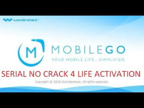 WONDERSHARE MOBILEGO SERIAL ALL VERSION NO CRACK NEEDED FOR LIFE