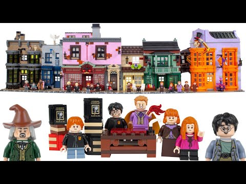 LEGO Harry Potter 2020 Diagon Alley 75978 In-Depth Review!