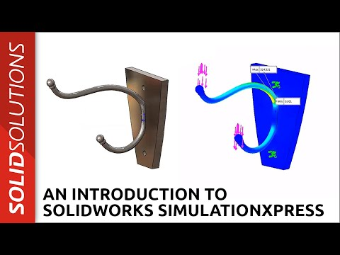 An Introduction to SOLIDWORKS SimulationXpress