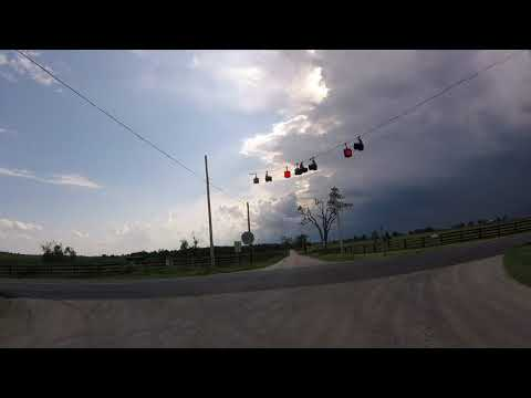 GOPR0 - Bicycle Nerd - Storm moving in on me in Bourbon county