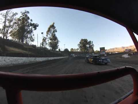 Santa Maria Speedway Joey Claborn IMCA West Coast Super Stock #88C Heat Race View #1 8/3/13