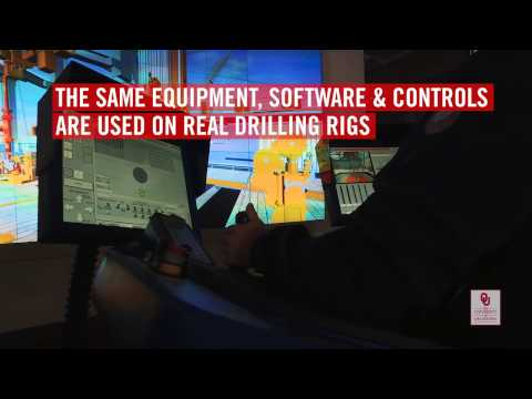 EnergyHQ | Education | OU School of Energy, Drilling Simulator Technology