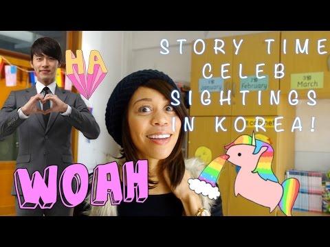 Story Time: Meeting Korean Celebs....Okay Sorta!
