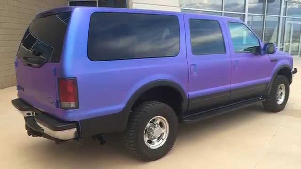 Punch Chameleon Dipped Ford Excursion Youtube