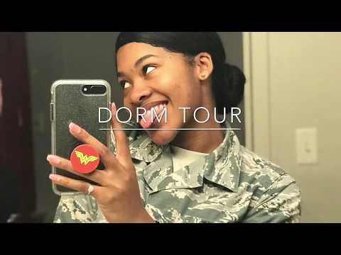 DORM TOUR | THE AIRFORCE IS SPOILED!
