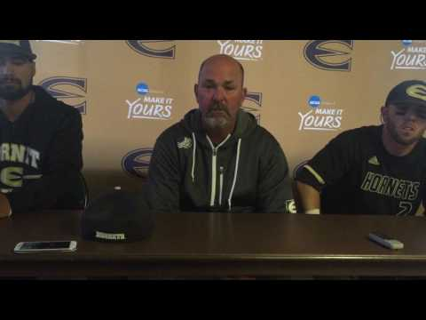 Emporia State baseball post game presser after UCO loss