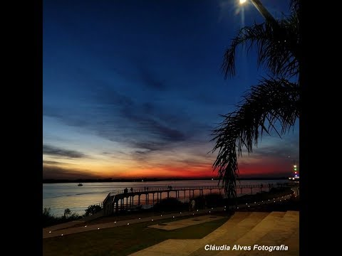 A orla do Guaíba que encanta   Música: The One Who Loves You Now - Agnetha Fältskog