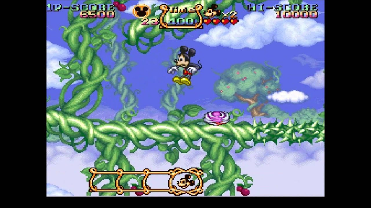 magical quest  starring mickey mouse snes  youtube