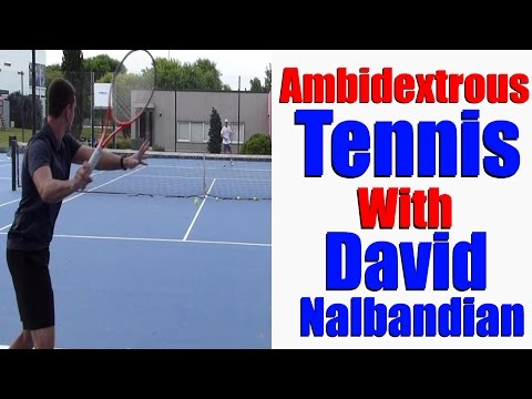 Two Forehands Tennis Against David Nalbandian