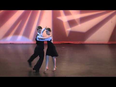 Dance stream studio  recital .Tango