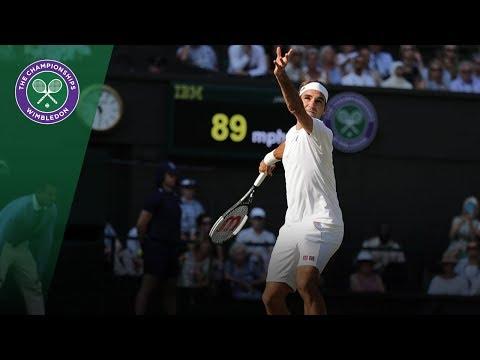 Roger Federer vs Jan Lennard Struff 3R Highlights | Wimbledon 2018