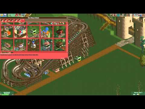 Roller Coaster Tycoon 2 - Crazy Castle Part 1 |
