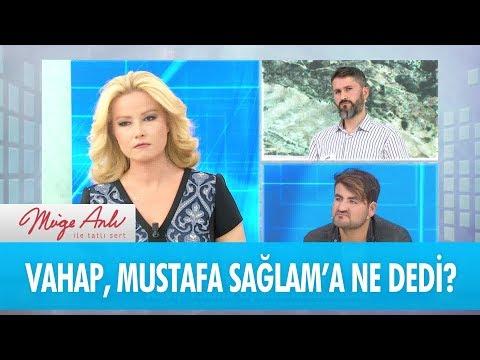 Vahap, Fatma Uyanık'ın akrabası Mustafa Sağlam'a ne dedi? - Müge Anlı İle Tatlı Sert  21 Kasım