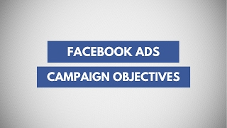 Campaign Objectives In Facebook & Instagram Advertisements