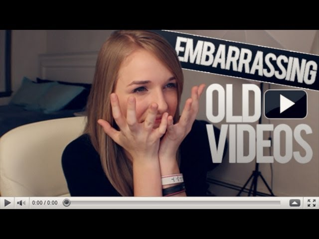 EMBARRASSING OLD VIDEOS Travel Video
