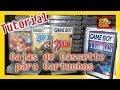 Tutorial: Crea tus Cajas de cassette para cartuchos game boy