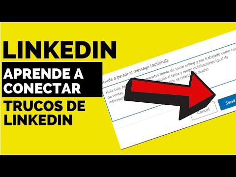7️⃣ Como hacer una invitación en LinkedIn  (Ejemplo de PRESENTARSE o contactar)