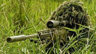 Цветы войны: работа снайпера. The flowers of war: the job of a sniper.