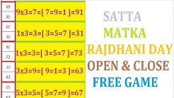 SATTA MATKA RAJDHANI DAY 20-04-2020 OPEN TO CLOSE BINDAS LINE BINDAS PLAY सट्टा मटका