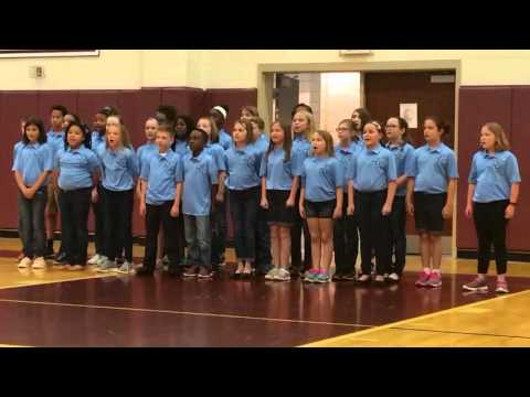 Odell Elementary performs We R Odell at Harold E Winkler Middle School