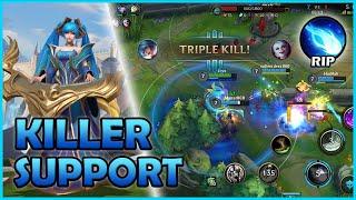 WILD RIFT SONA Gameplay | The Killer Support in Wild Rift | Closed Beta