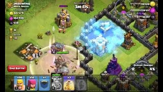 Clash of clans In TOWN HALL 9 freeze spell unlock on new update