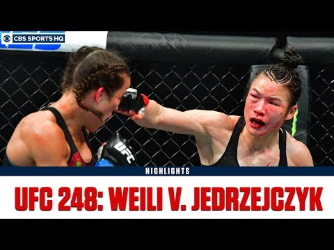 Ufc 248: Zhang Weili Defeats Joanna Jedrzejczyk By Split Dec.  Highlights & Recap  Cbs Sports Hq