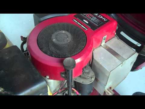 Compression test on briggs stratton ic quiet doovi for Briggs and stratton motor locked up