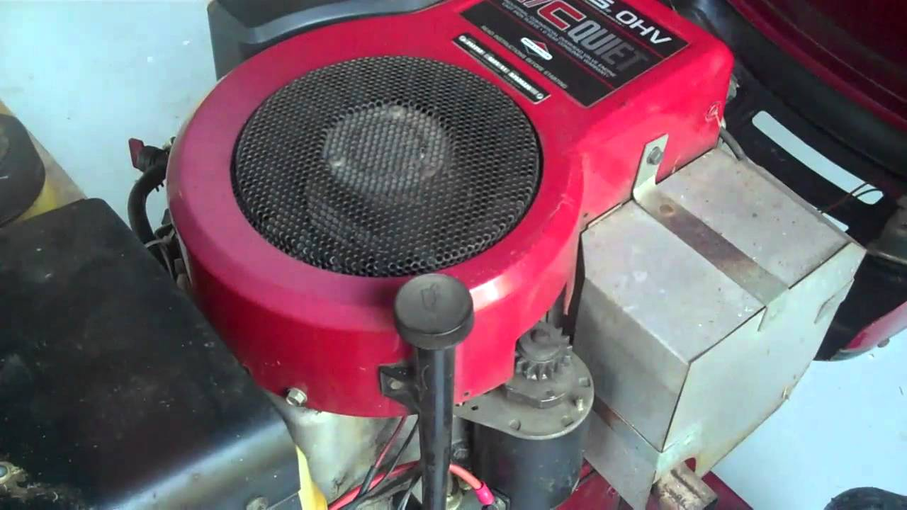 Starting problems ohv briggs stratton help doovi for Briggs and stratton 5hp motor