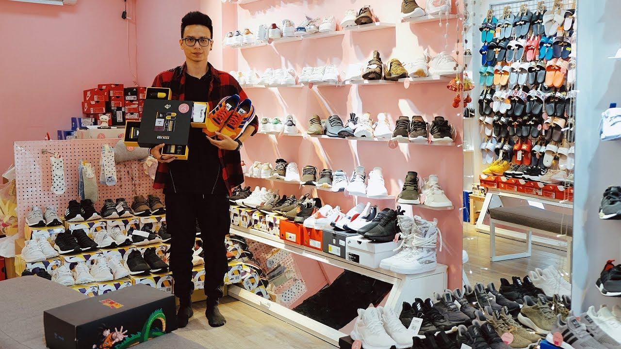 Lặn lội đến Trạm Tabo Sài Gòn để mua được đôi giày mơ ước
