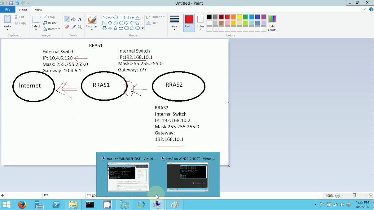 Configuring Routing and NAT in Windows 2012 R2
