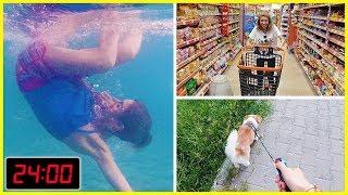Yaz Tatili Günlük Rutinim Havuz Alışveriş Melo Eğlenceli Çocuk su Dila Kent