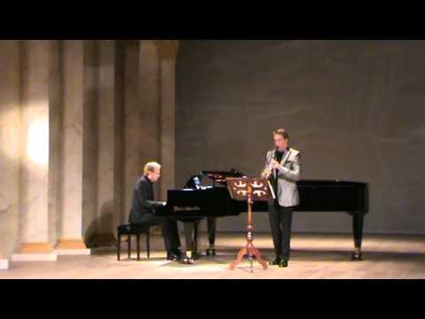 Schubert Ave Maria for Clarinet. (arranged) Encore.