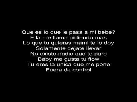 Fuera de Control - Daddy Yankee Letra / lyrics