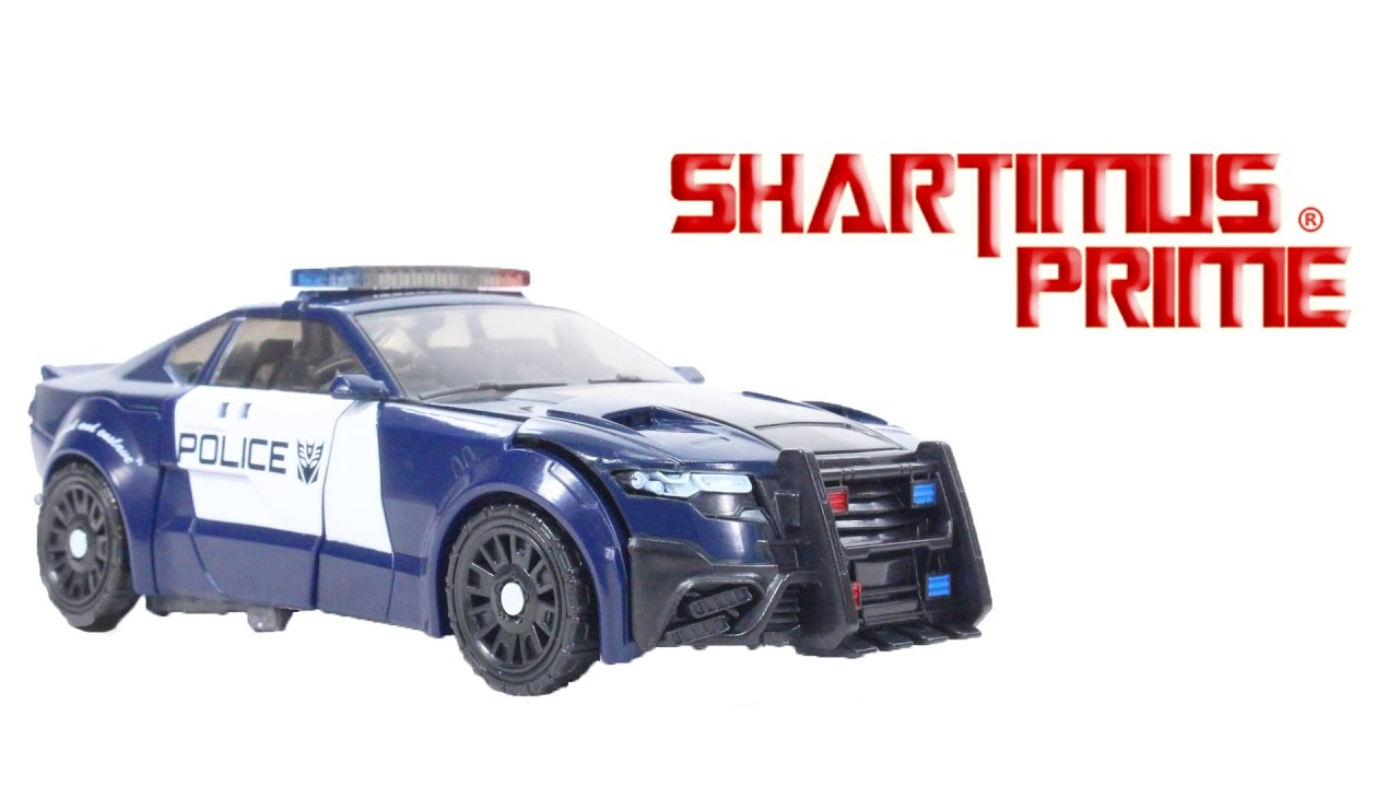 The Barricade Figure Last Transformers Action Toy Movie Knight Class Hasbro Review Deluxe 9HD2EI