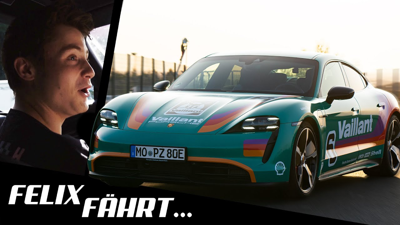 Das BESTE Elektro-Auto! - Felix fährt Porsche Taycan